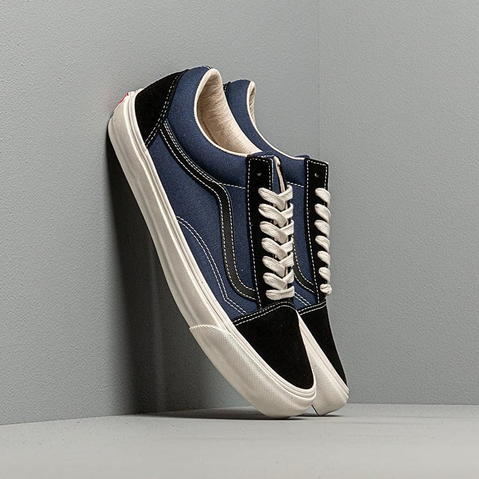 Vans OG Old Skool LX (Suede/ Canvas) Black/ Navy EUR 47