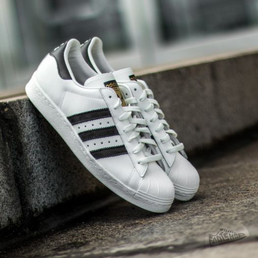 best sneakers aa9bb 2f80c adidas Superstar 80s Deluxe Vintage White/Core Black/Off ...