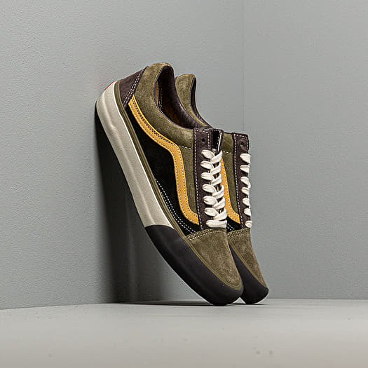 Vans Old Skool VLT LX (SuedeLeather) Shale Stone Gray | Footshop