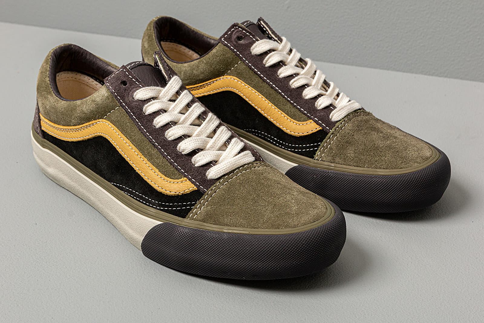 Vans Old Skool VLT LX (SuedeLeather) Shale Stone Gray | Footshop