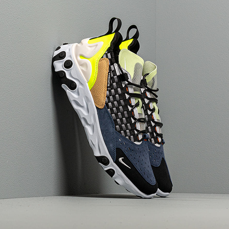 Nike React Sertu Black/ White-White-Volt EUR 45