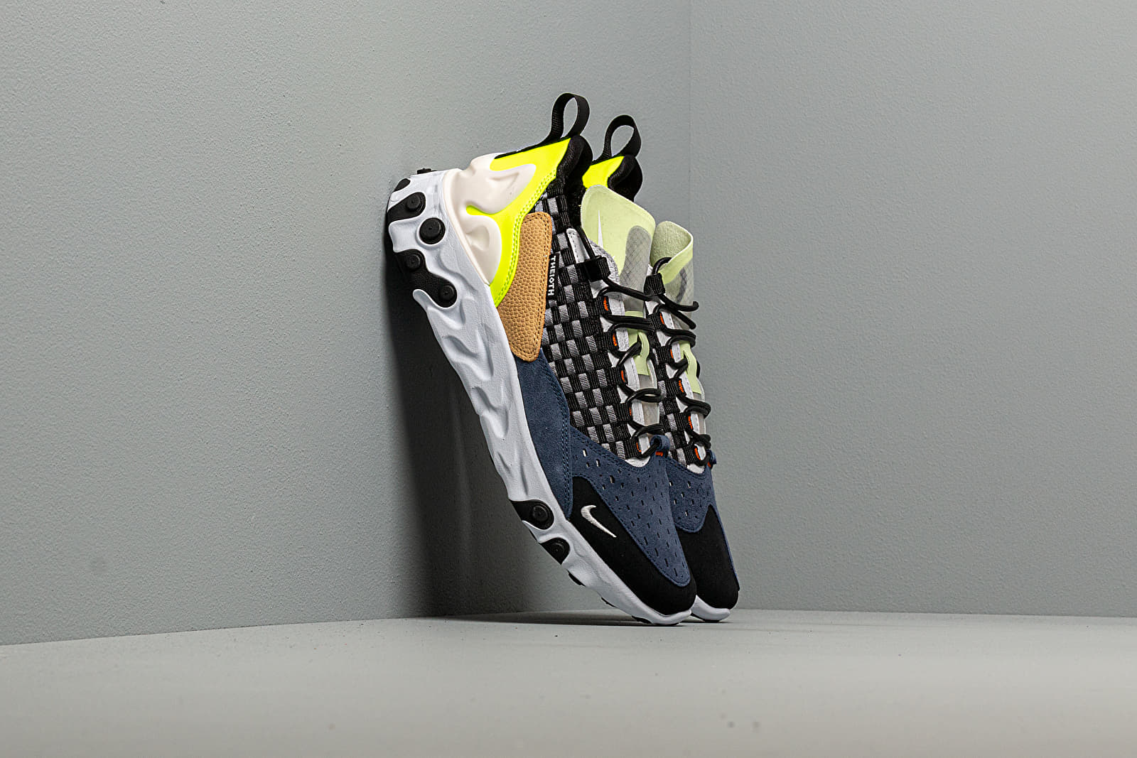 Men's shoes Nike React Sertu Black/ White-White-Volt