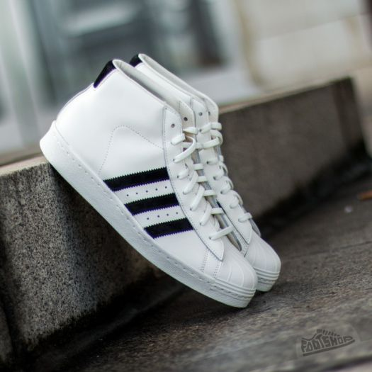 adidas Pro Model Vintage Deluxe Off White/Core Black | Footshop