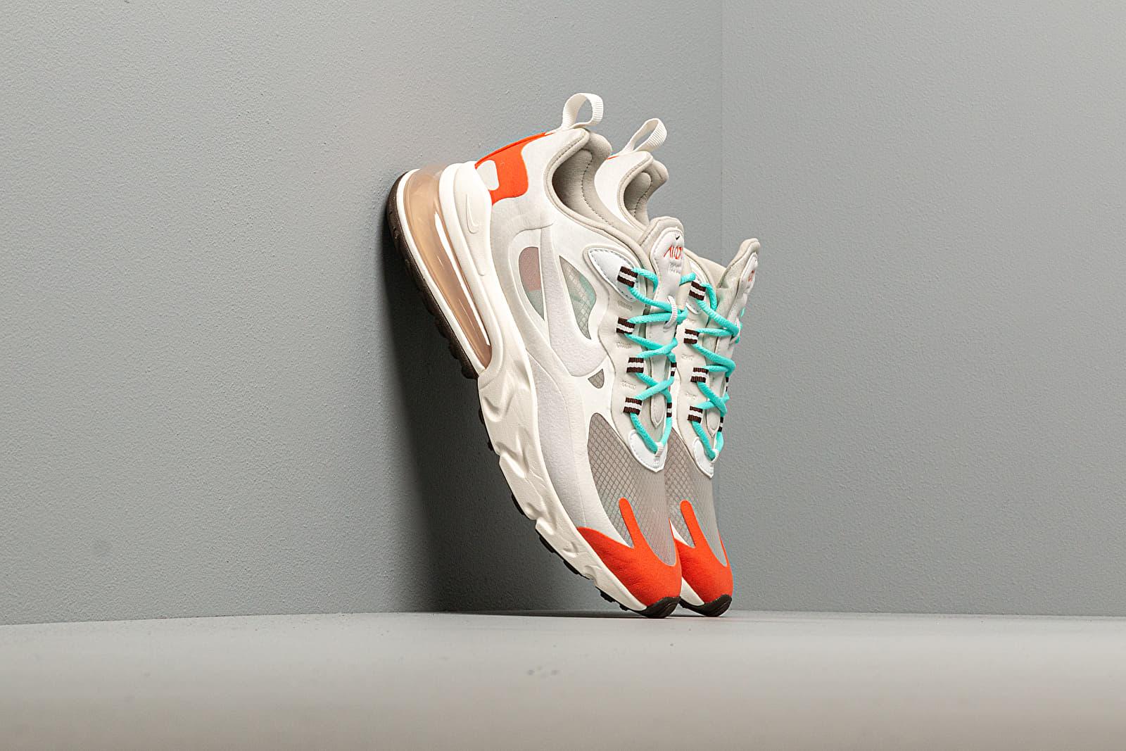 Dámské tenisky a boty Nike W Air Max 270 React Lt Beige Chalk/ Platinum Tint