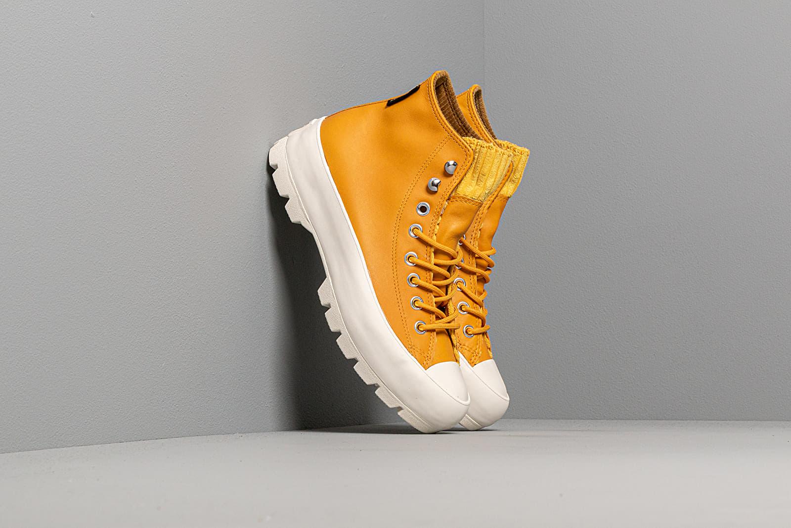 Women's shoes Converse Chuck Taylor All Star Lugged Winter Retrograde Gold Dart/ Olive Flak/ Egret