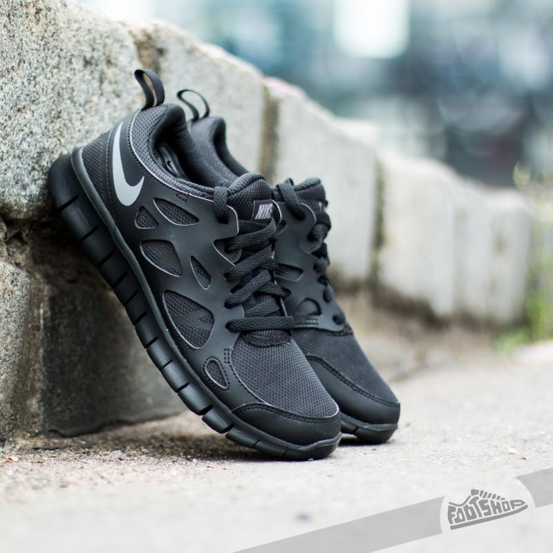 bff0514283c99 Nike Free Run 2 (GS) Black  Cool Grey