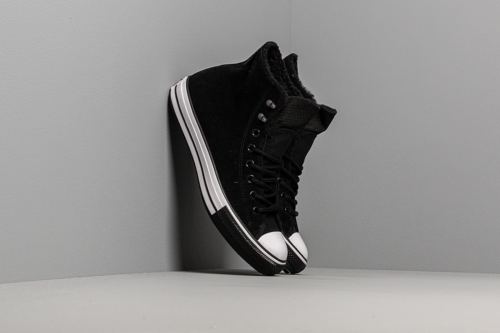 Pánske tenisky a topánky Converse Chuck Taylor All Star Winter Waterproof Black/ White/ Black