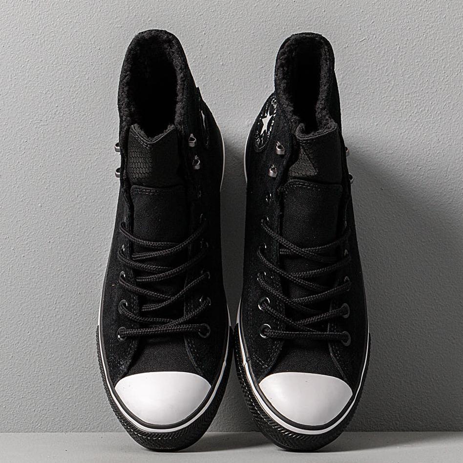Converse Chuck Taylor All Star Winter Waterproof Black/ White/ Black