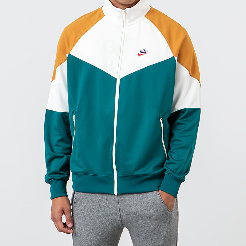 Nike Sportswear Jacket Geode Teal/ Sail/ Gold Suede, Green