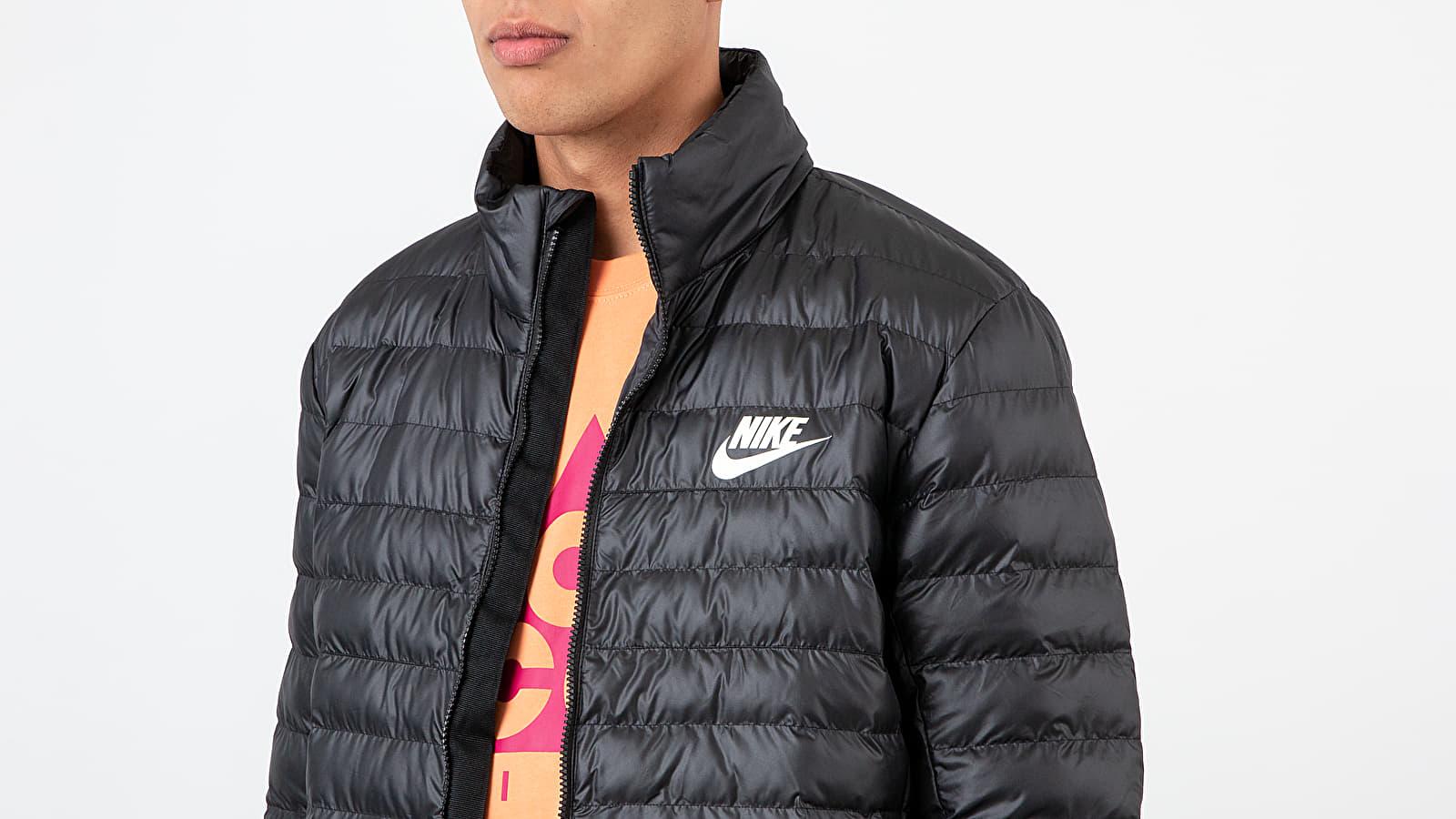 Nike Sportswear Synthetic Fill Bubble Jacket Black Black Black Sail | Footshop