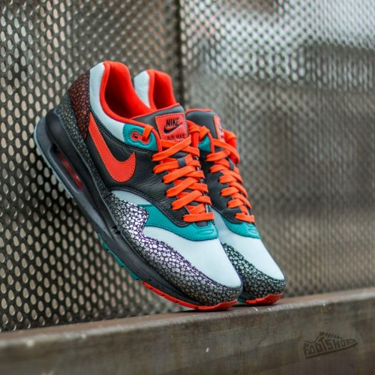 Nike Air Max Lunar 1 Deluxe QS AnthraciteTeam Orange Catalina | Footshop