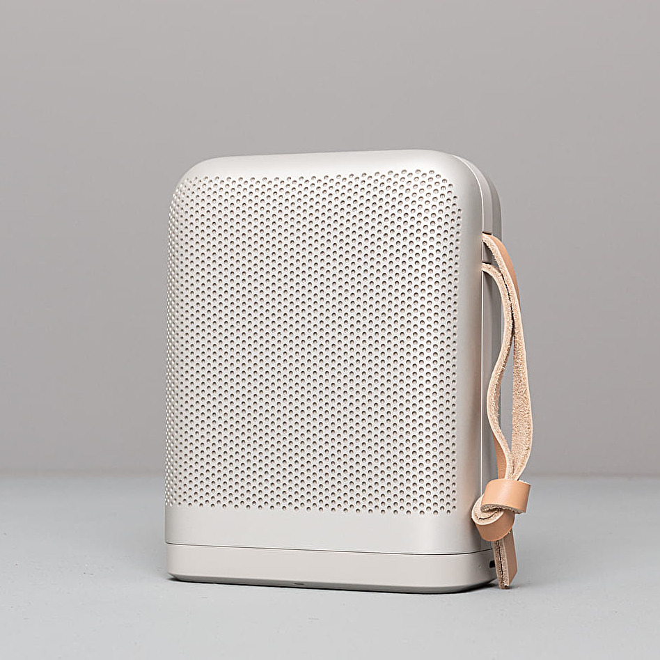 Bang  Olufsen P6 Portable Bluetooth Speaker Natural