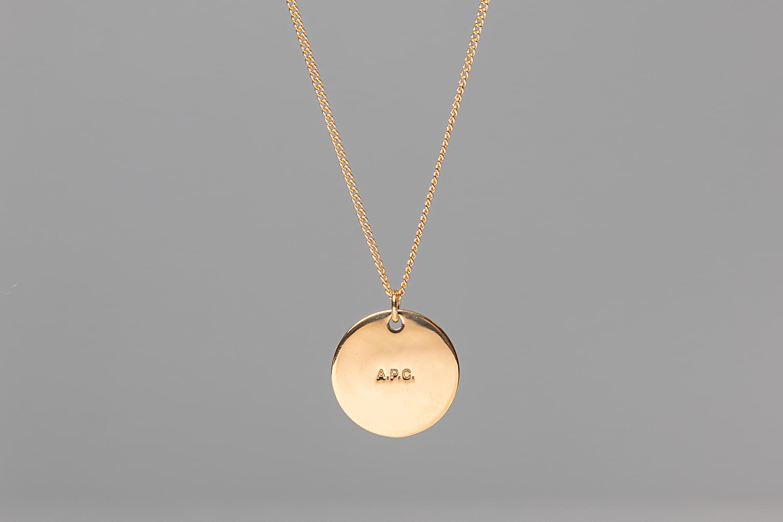 Necklace A.P.C. Eloi Necklace Goldtone