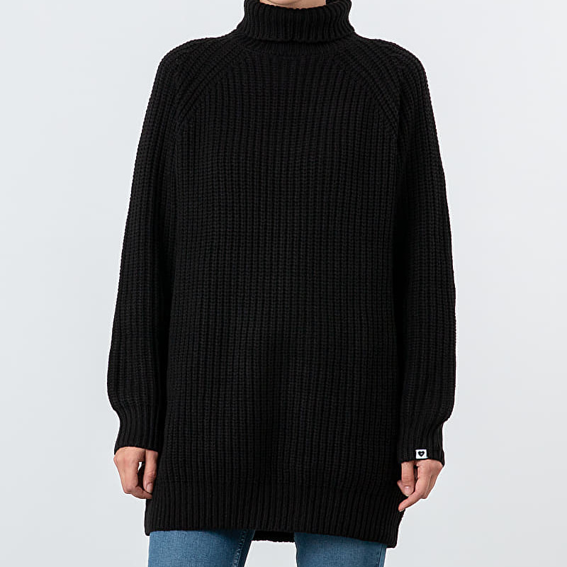 Lazy Oaf Jumper Dress Black