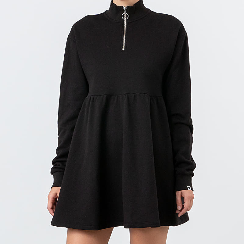 Lazy Oaf Sally Sweater Dress Black