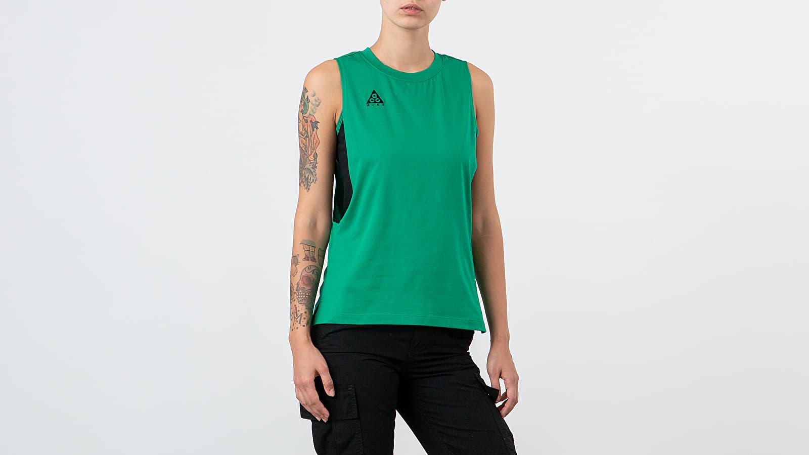 T-Shirts Nike NRG ACG Tank Lucid Green/ Black/ Sport Fuchsia