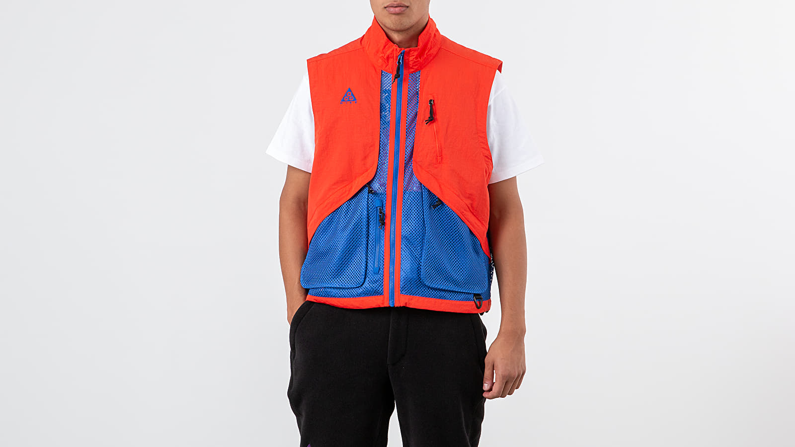 Bundy Nike NRG ACG Vest Habanero Red/ Game Royal