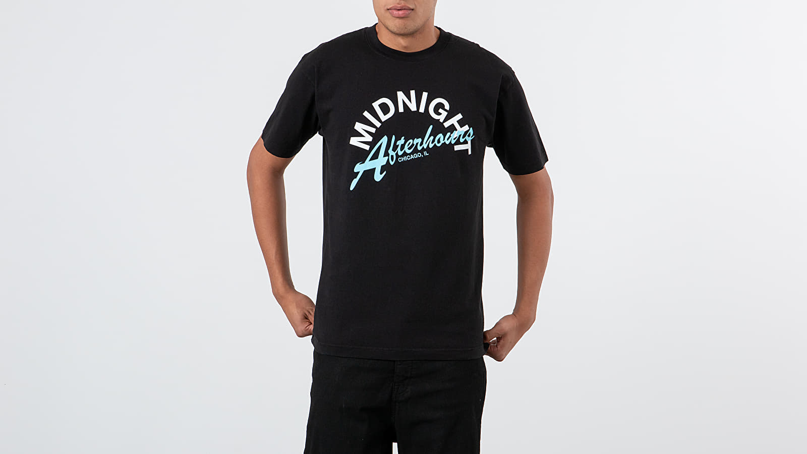 Tricouri Midnight Studios Afterhours Tee Black