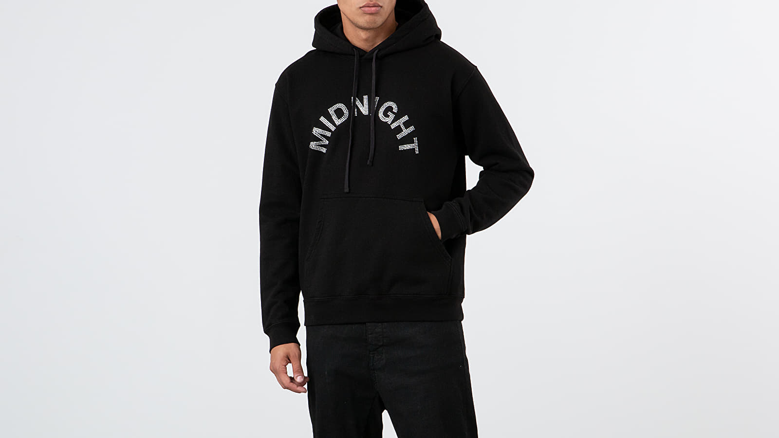 Midnight Studios Crystal Logo Hoodie