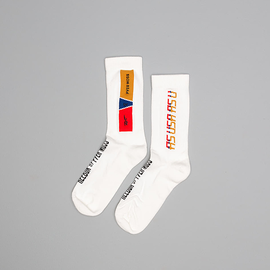 Reebok by PYER MOSS Crew Socks White