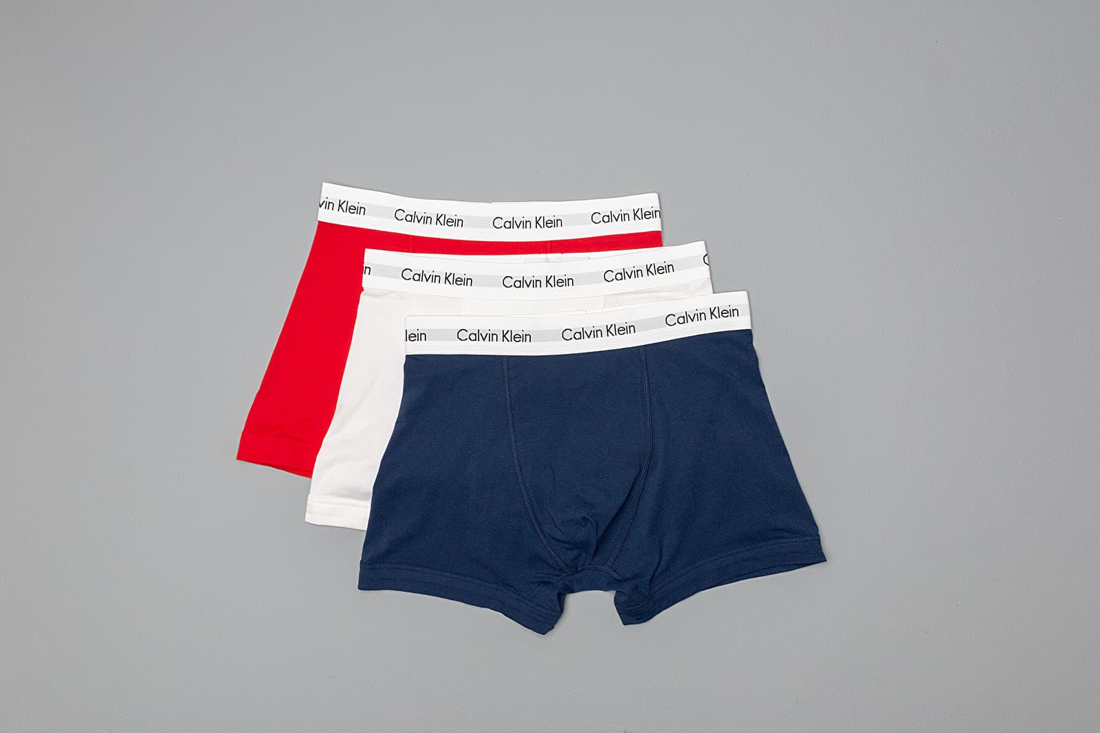 Boxerky Calvin Klein 3Pack Trunks Multicolor
