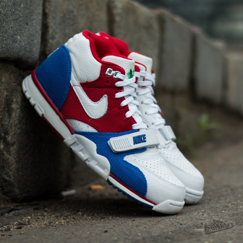 46d2aaa1703a Nike Air Trainer 1 Mid PRM QS Puerto Rico White  Gym Red  Game ...