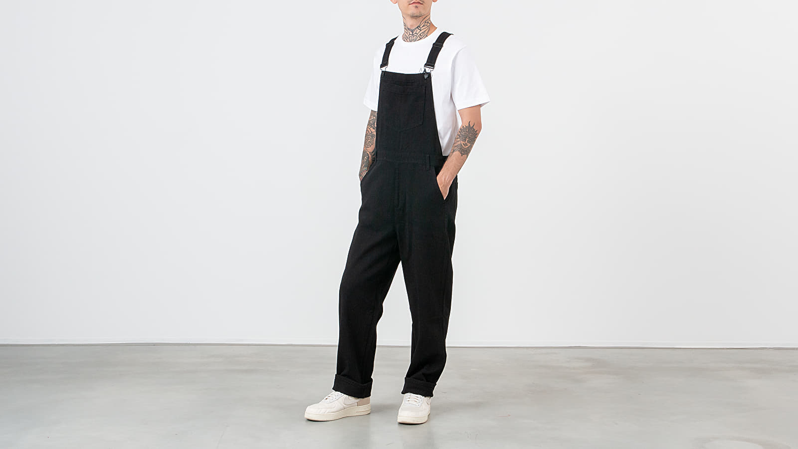 Pants and jeans Lazy Oaf Dungaress Pants Black