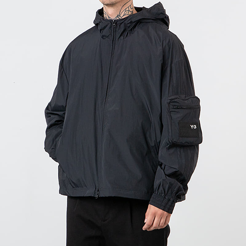 Y-3 Woven Shell Track Jacket Black