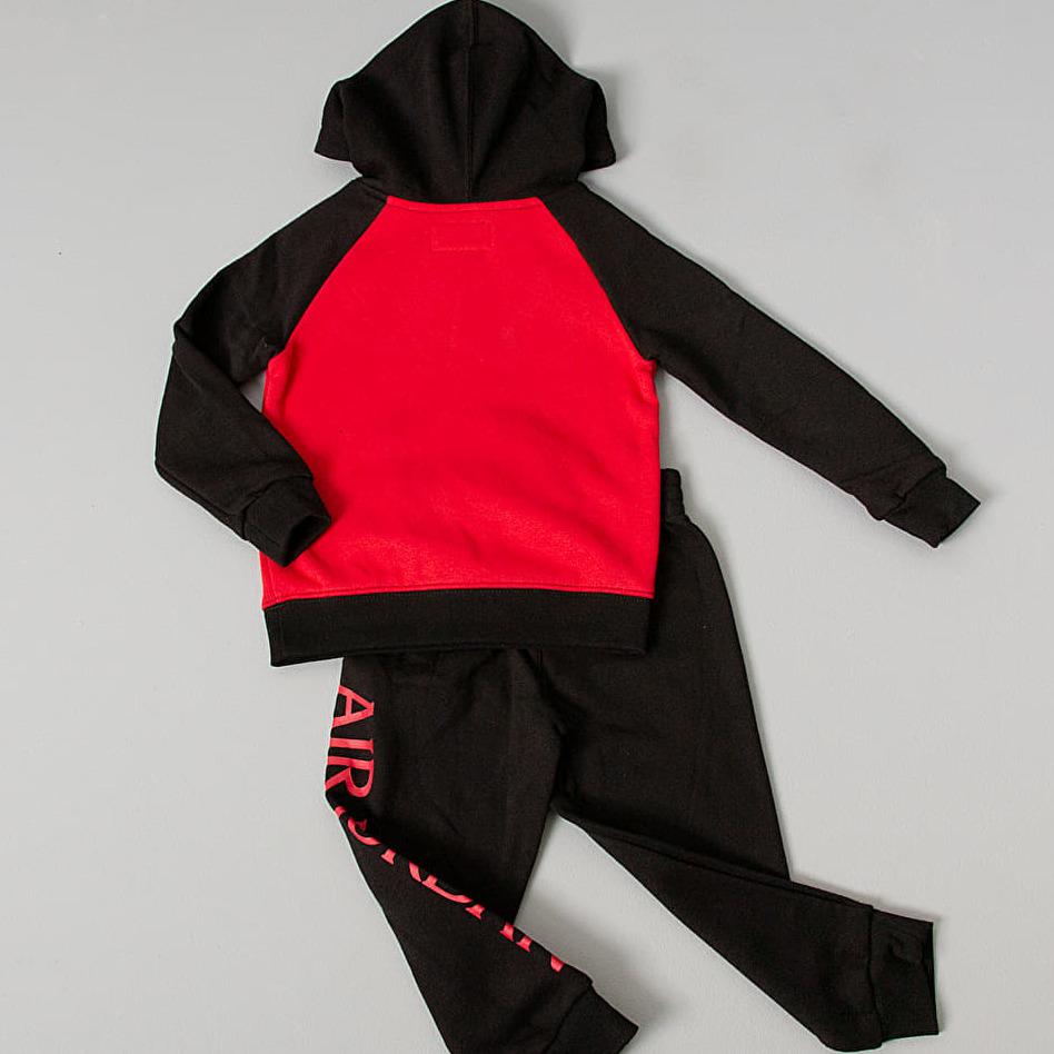 Jordan Jumpman Classic Pullover Jogger Set Black/ Red