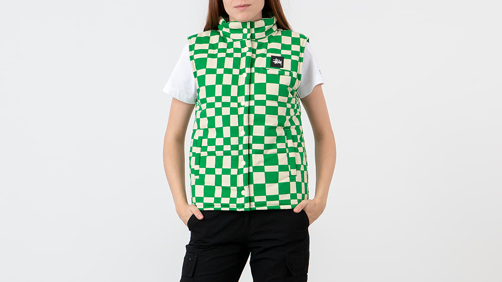 Stüssy Sabi Checker Puff Vest