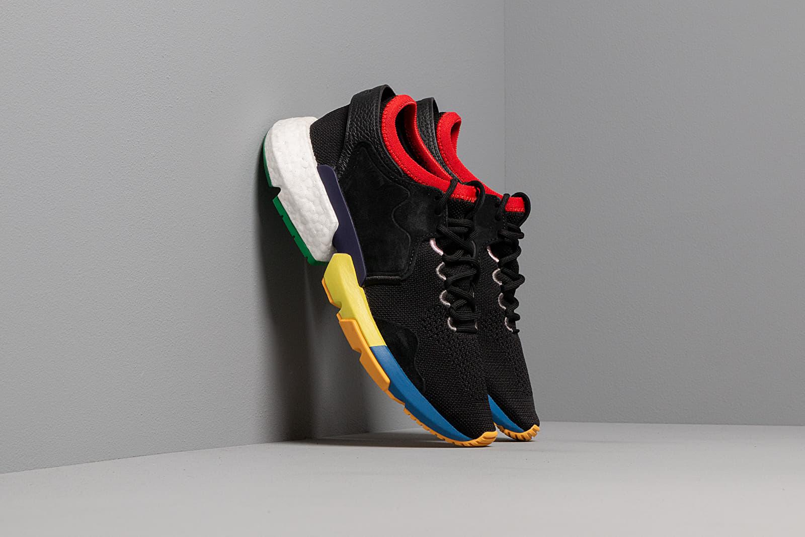 Men's shoes adidas Consortium x Social Status P.O.D Core Black/ Core White/ Off White