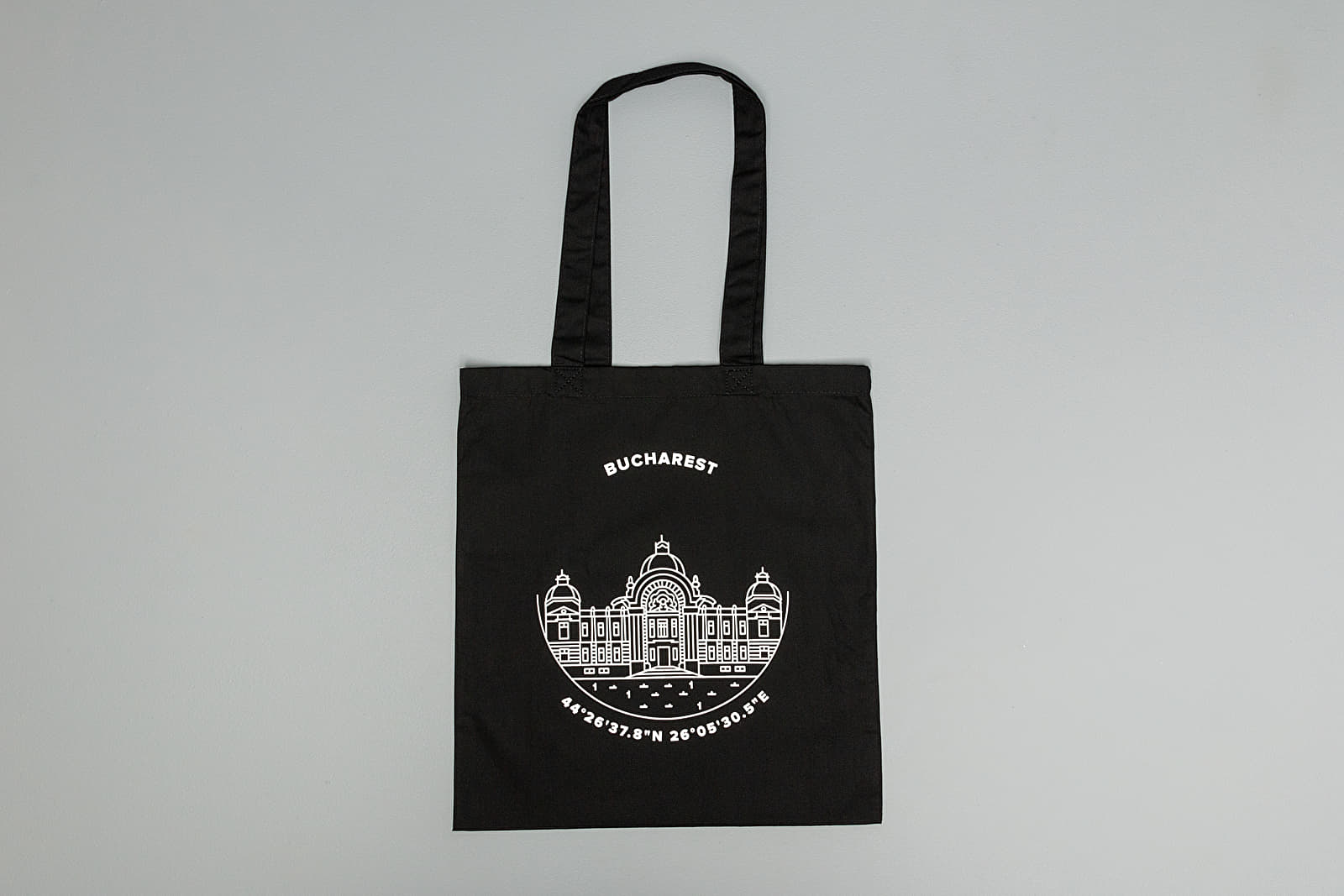 Borse a tracolla Footshop Bucharest Tote Bag Black