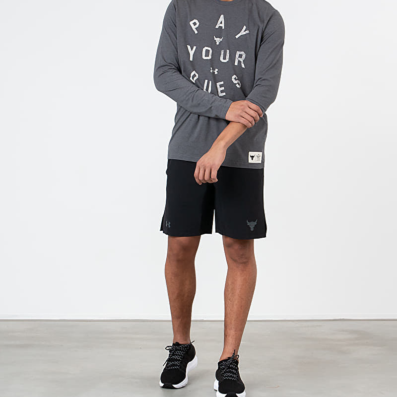 Under Armour Project Rock Pay Your Dues Tee Grey, Gray