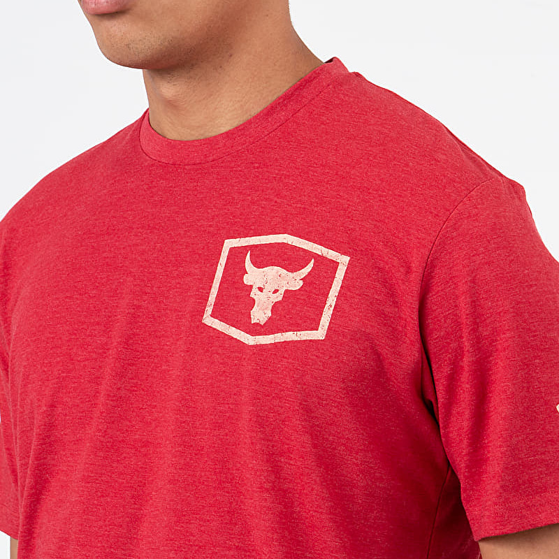 Under Armour Project Rock Iron Paradise Red