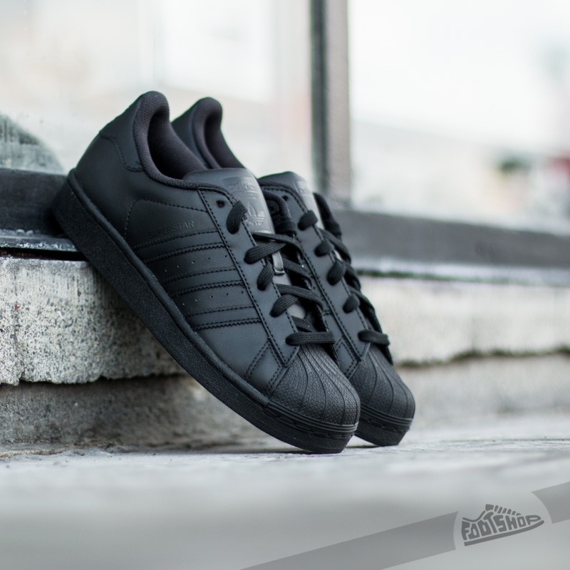 33b78e895d0 adidas Superstar Foundation J Core Black | Footshop