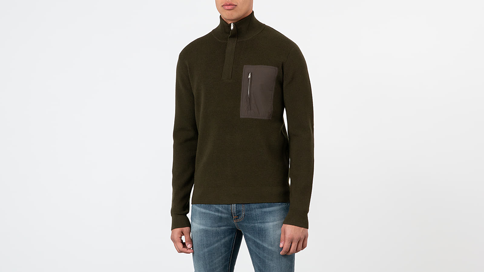 Norse Projects Fjord Tech Half Zip Sweatshirt