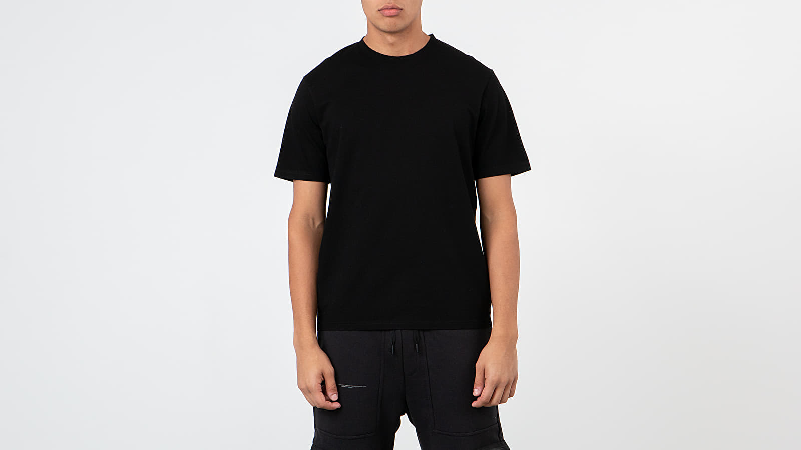 T-shirts Norse Projects Jesper Fine Pique Tee Black