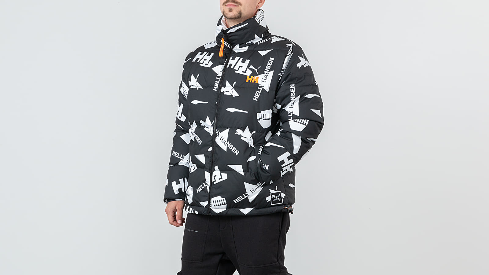 Puma x Helly Hansen Reversible Jacket Black/ White | Footshop
