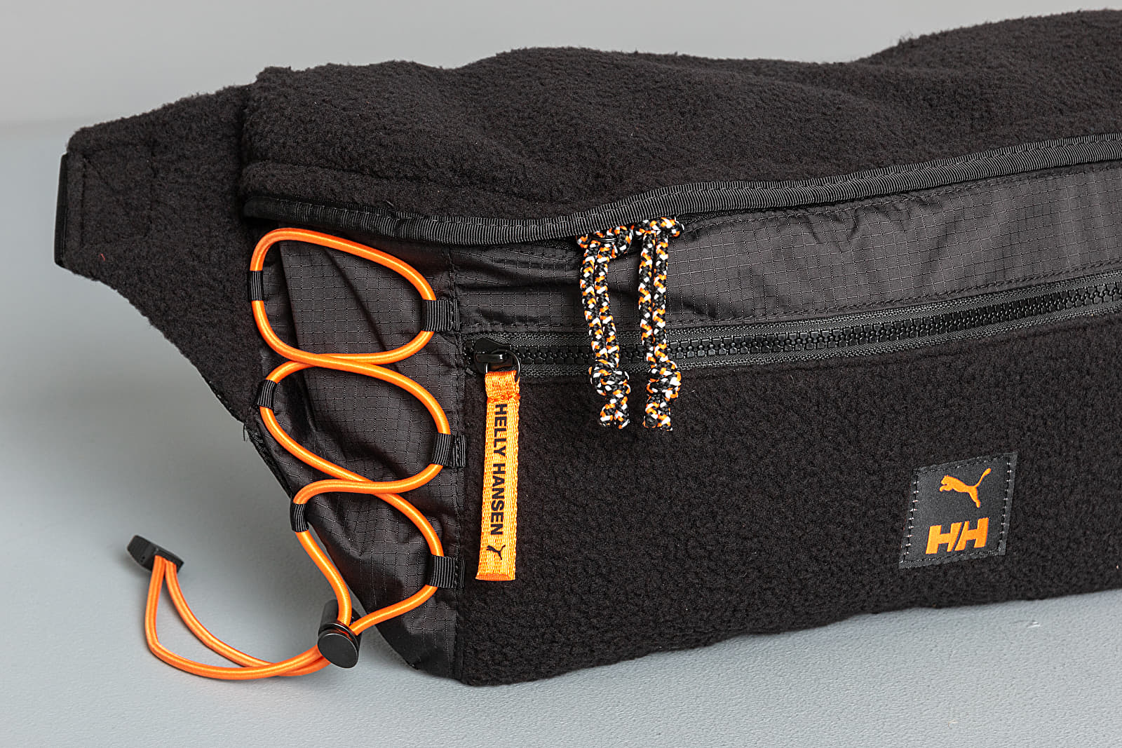 Puma x Helly Hansen Oversized Waistbag Black | Footshop
