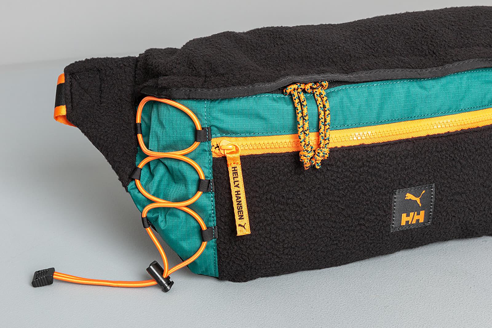 Puma x Helly Hansen Oversized Waistbag Black/ Teal Green | Footshop