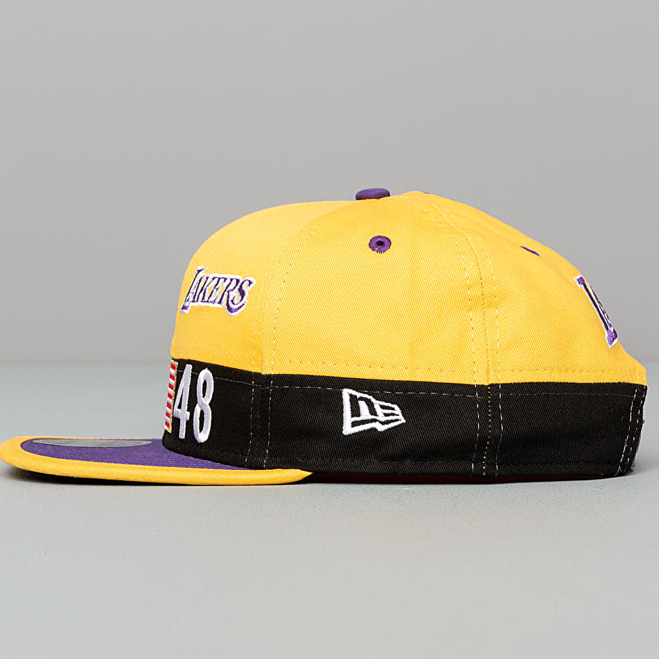 New Era 9Fifty NBA Colour Block Los Angeles Lakers Snapback Yellow/ Purple/ Black, Multicolour