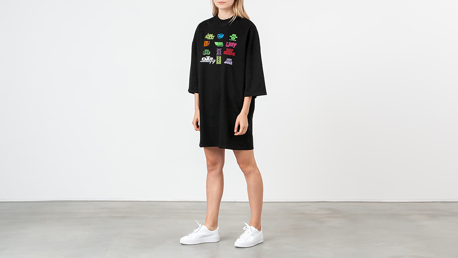 Lazy OAF Playing Games Tee Dress