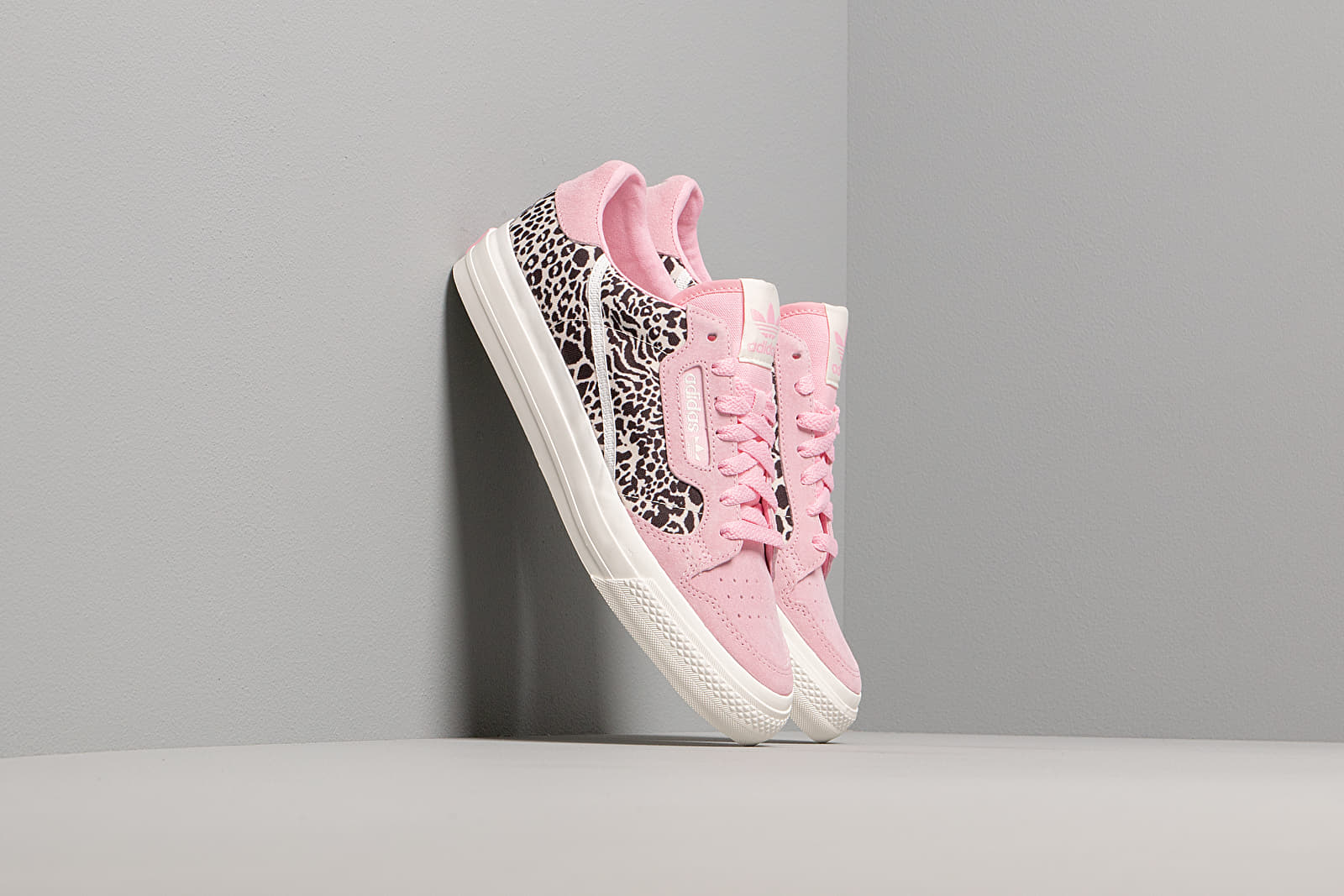 Women's shoes adidas Continental Vulc W True Pink/ Ftw White/ Off White