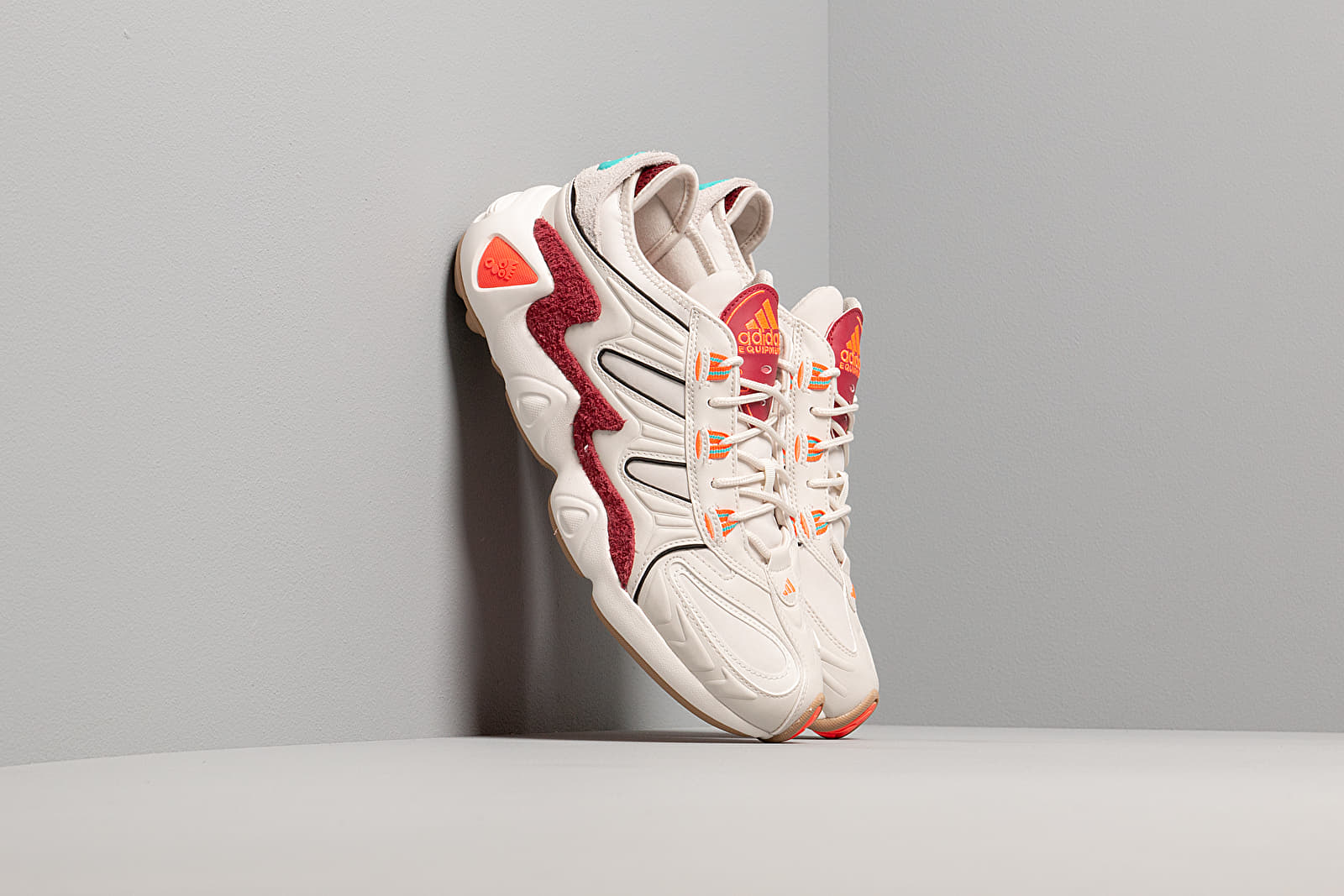 Ανδρικά παπούτσια adidas FYW S-97 Raw White/ Raw White/ Solar Red