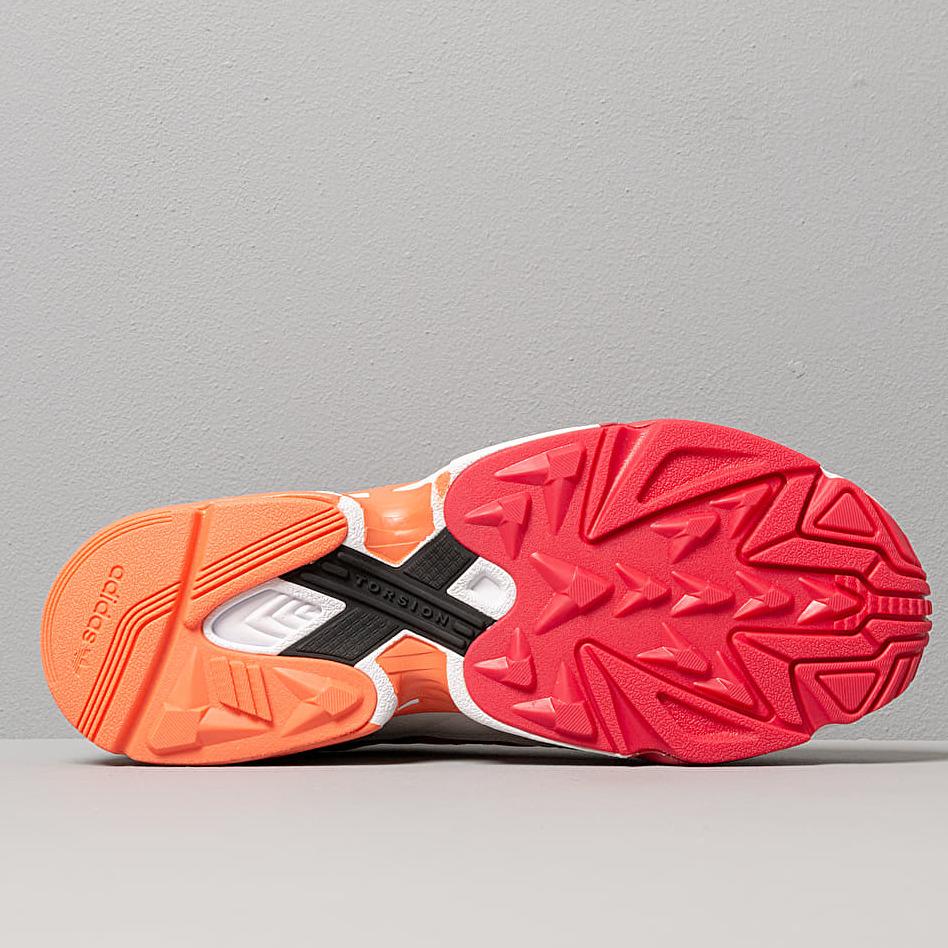 adidas Yung 1 Core Black/ Semi Core Orange/ Raw White, Brown