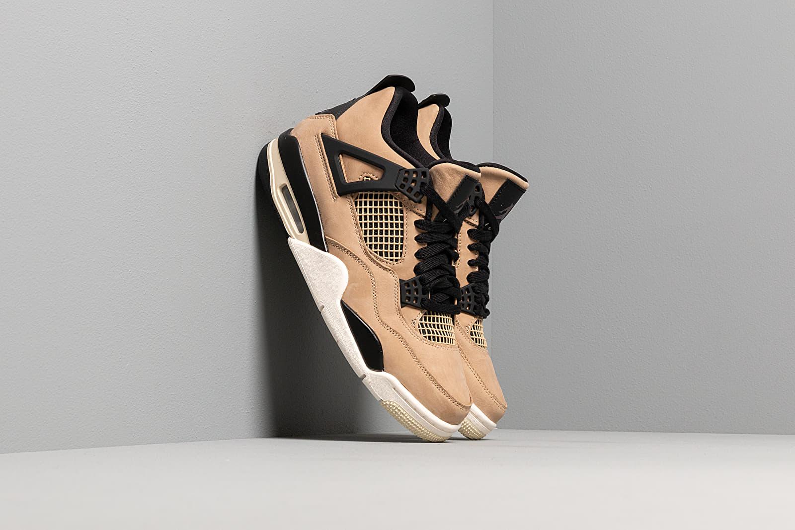 Women's shoes Air Jordan Wmns 4 Retro Mushroom/ Multi-Color-Black-Fossil