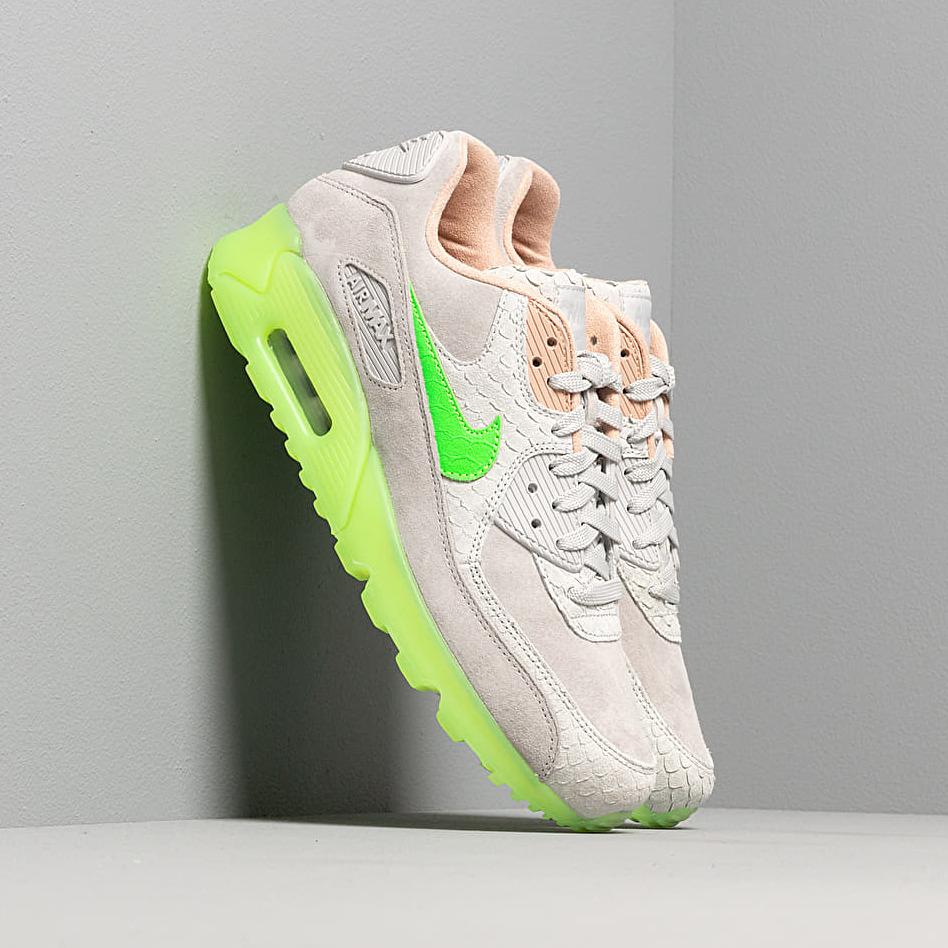 Nike Air Max 90 Premium Pure Platinum/ Electric Green-Bio Beige EUR 41