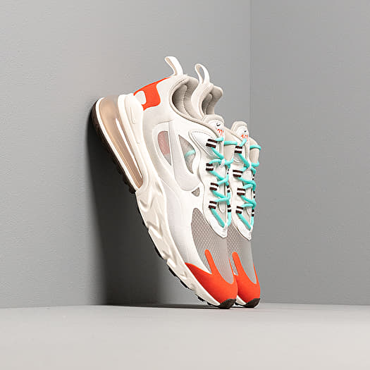 Sneaker Nike Nike Air Max 270 React Light Beige Chalk/ Platinum Tint