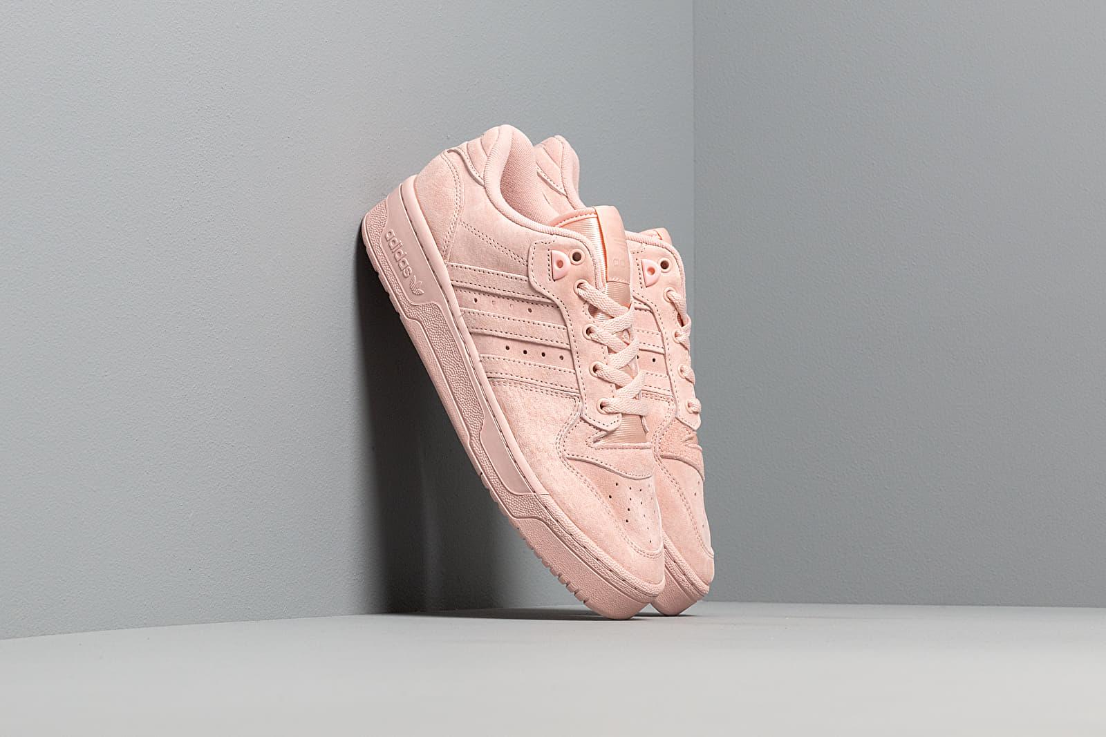 Women's shoes adidas Rivalry Low W Vapor Pink/ Vapor Pink/ Ftw White