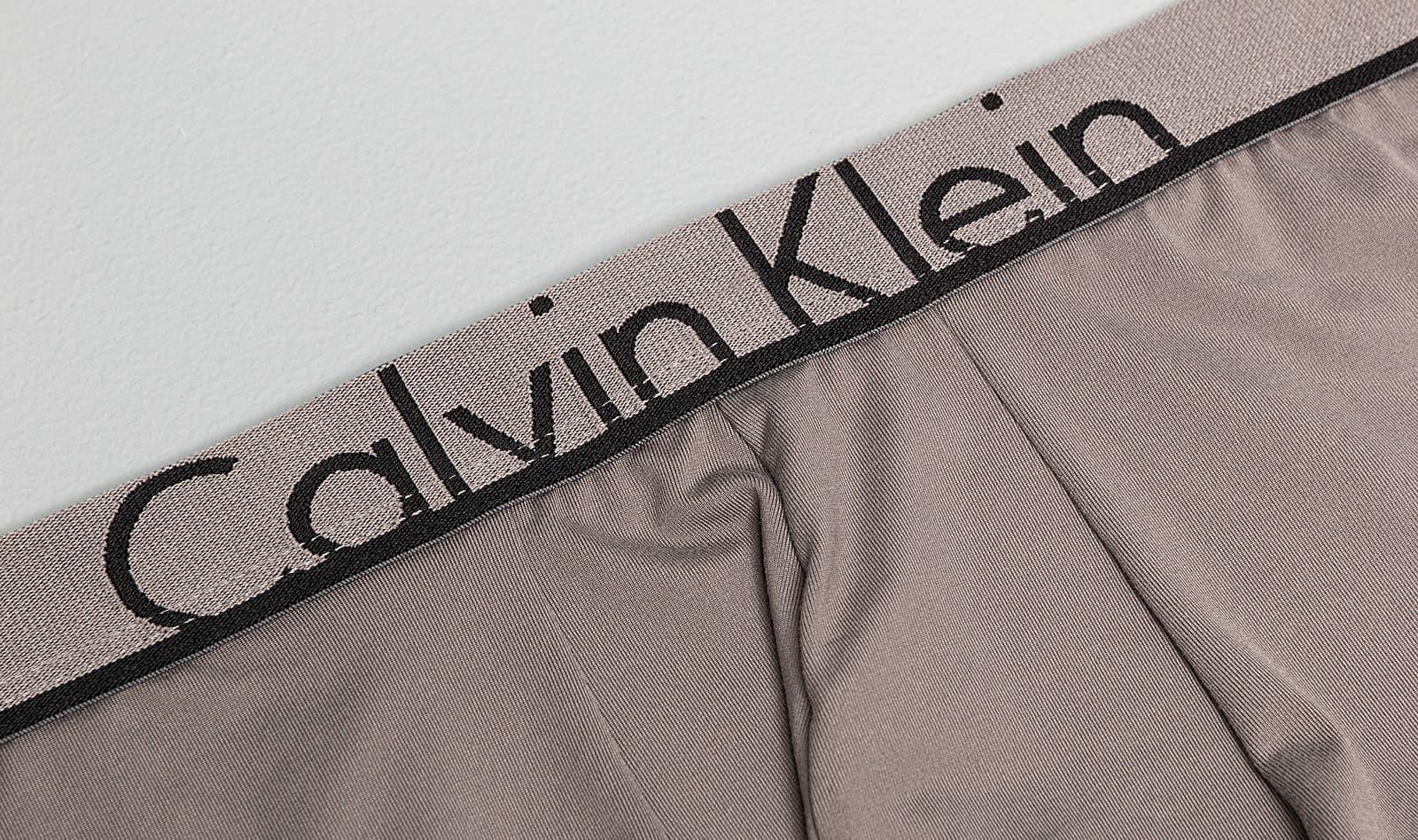 Calvin Klein Low Rise Trunk Grey, Gray